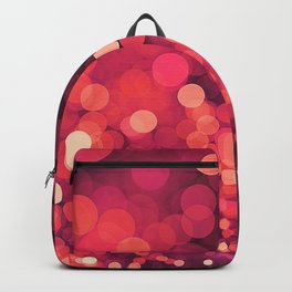 Red Glitter Wave Backpack