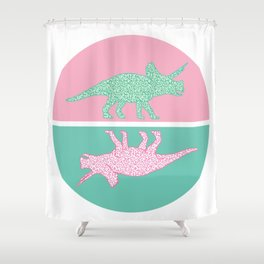 Herbivorous Shower Curtain