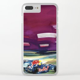 Under the lights Clear iPhone Case