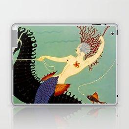 """Art Deco Illustration """"Water"""" Laptop & iPad Skin"""