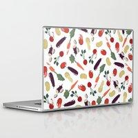 vegetable Laptop & iPad Skins featuring Vegetable by Ceren Aksu Dikenci