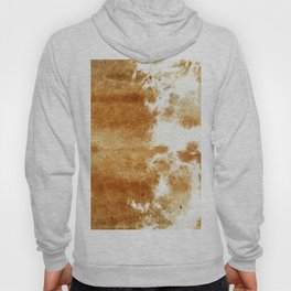 Golden Brown Cow Hide Hoody