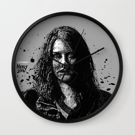 Badass Maggie Greene as played by Lauren Cohan on the Walking Dead Wall Clock