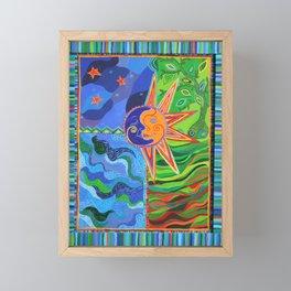 The Elements Framed Mini Art Print