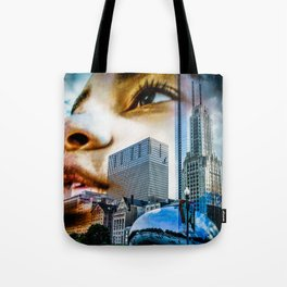 """Chicago Dreaming 3"" Tote Bag"