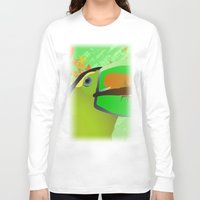 africa Long Sleeve T-shirts featuring africa by Cenk Cansever