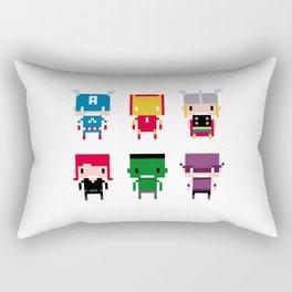 Pixel Avengers Rectangular Pillow