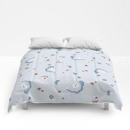 Snow boy pattern Comforters