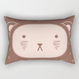 WILD + BEAR print Rectangular Pillow