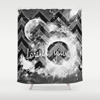 forever young Shower Curtains featuring forever young by haroulita