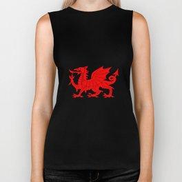 Welsh Dragon Biker Tank