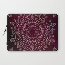 Wine Mandala Laptop Sleeve