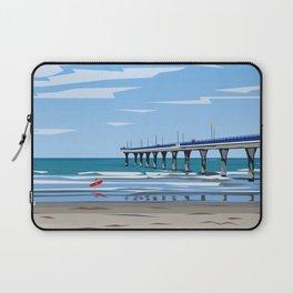 New Brighton Pier, Christchurch, NZ Laptop Sleeve