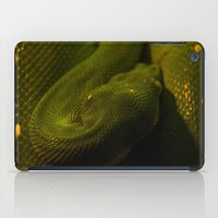 monty python iPad Cases featuring basking python by Claes Touber