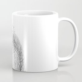 Squirrel Monkey Drawing Coffee Mug