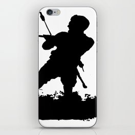 Board Out Of Your Mind Wakeboarding Silhouette iPhone Skin