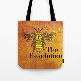 Bee the Revolution Tote Bag