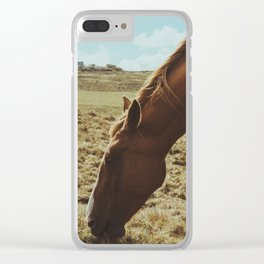 Horsey! Clear iPhone Case