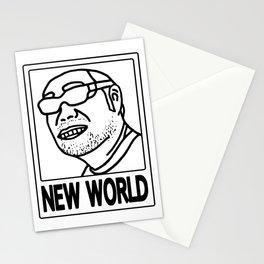 New World (B) Stationery Cards
