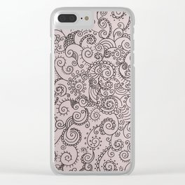 Absentminded Clear iPhone Case