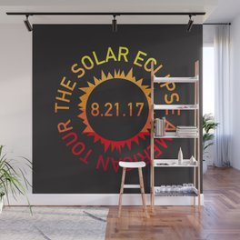 The Solar Eclipse American Tour Wall Mural
