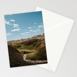 Yellow Mounds - Badlands National Park Stationery Cards