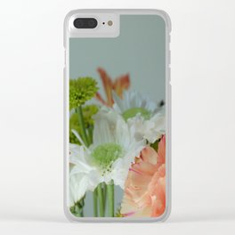 Nature's Bouquet Clear iPhone Case