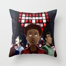 The Psions cover Throw Pillow