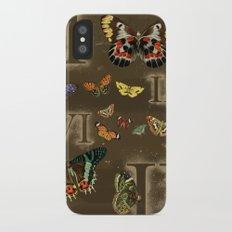 Let's Count Butterflies Slim Case iPhone X