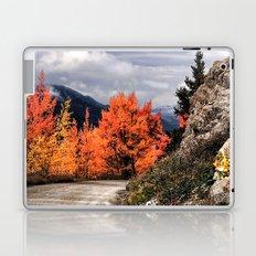 Autumn Mountain Road Laptop & iPad Skin