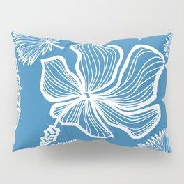 Blue Tropicana Pillow Sham