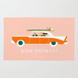 Bon voyage Rug