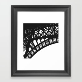 Eiffel Detail Framed Art Print