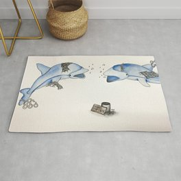 Money For Cause Rug