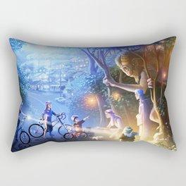 Moonlight Adventure Rectangular Pillow