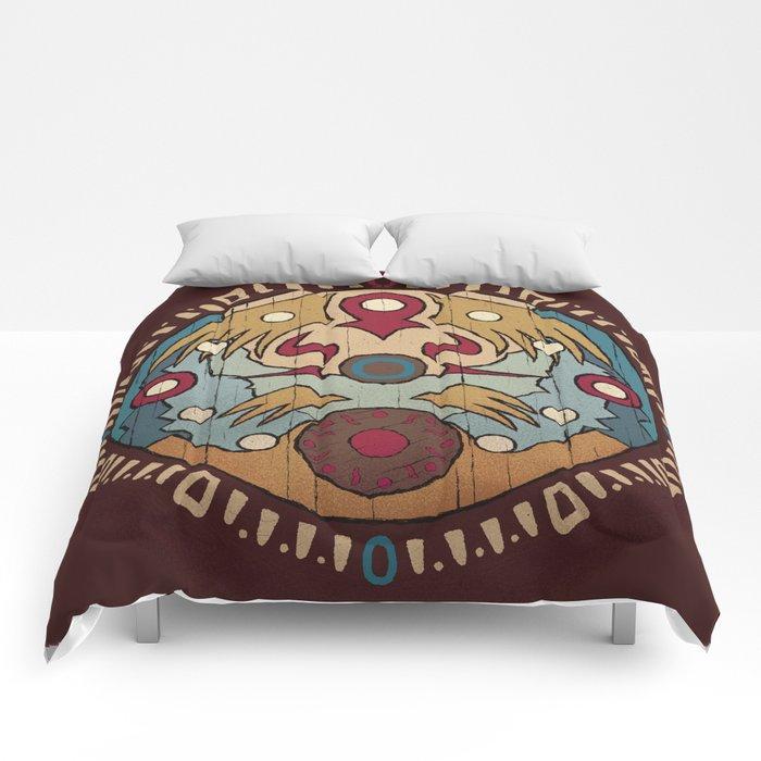 clock town clock Comforters