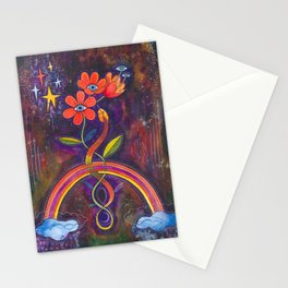 Time to bloom Stationery Cards