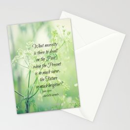 Present and Future Jane Eyre Quote Stationery Cards