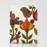 garden Stationery Cards featuring In the garden by Valentina Harper