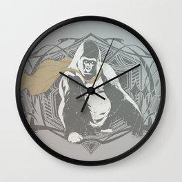 Fearless Creature: Grillz Wall Clock