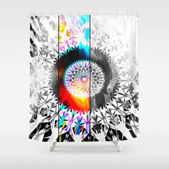 SOLANACEAE Shower Curtain