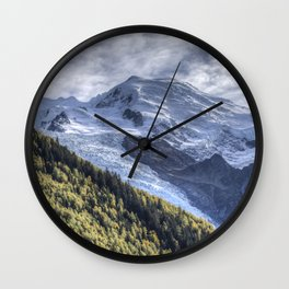 Mont Blanc Wall Clock