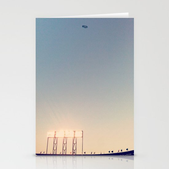 SFGiants Blimp Stationery Cards