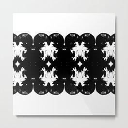 Black Series III Metal Print