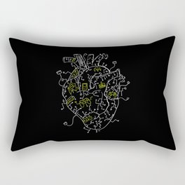 Gaming Control Tools | Heart Rectangular Pillow