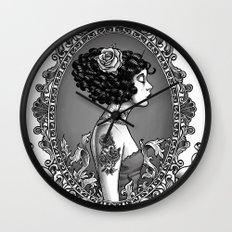 Menina Roza Wall Clock