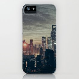Shanghai Skyline iPhone Case