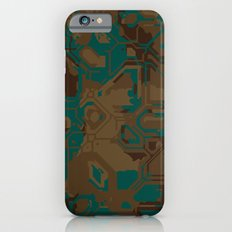 Peacock and Brown iPhone 6s Slim Case