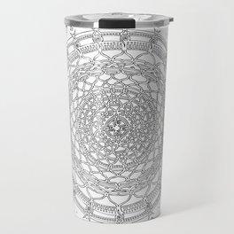 Basking on White Background Travel Mug