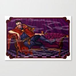 Smokey Strange Canvas Print